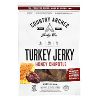 Country Archer Turkey Jerky - Honey Chipotle - 2.75 oz - 853016002298