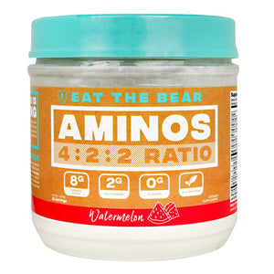 Eat The Bear Bare Aminos - Watermelon - 25 Servings - 850853007158
