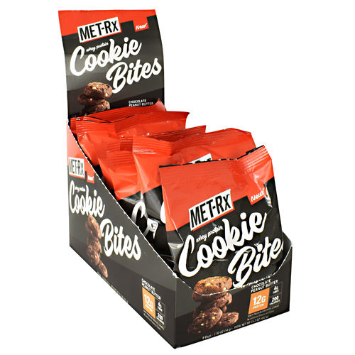 Met-Rx USA Cookie Bites - Chocolate Peanut Butter - 8 ea - 786560802451