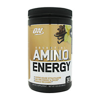 Optimum Nutrition Essential Amino Energy - Iced Cafe Vanilla - 30 Servings - 748927053982