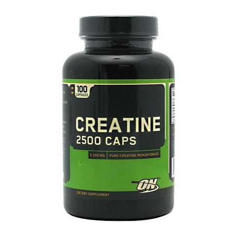 Optimum Nutrition Creatine 2500 Caps - 100 Capsules - 748927021332