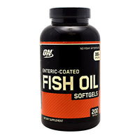 Optimum Nutrition Fish Oil - 200 Softgels - 748927029857
