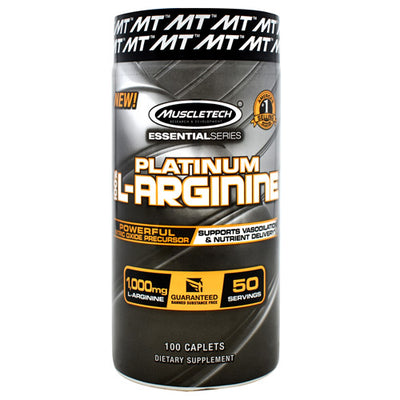 Muscletech Essential Series Platinum 100% L-Arginine