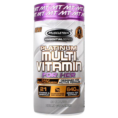 Muscletech Essential Series Platinum Multi Vitamin For Her