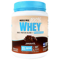 Cytosport Muscle Milk 100% Whey with Probiotics