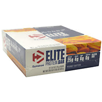 Dymatize Elite Protein Bar - Peanut Butter - 12 Bars - 705016311804