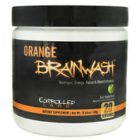 Controlled Labs Orange Brainwash - Sour Apple Rush - 20 Servings - 856422005761