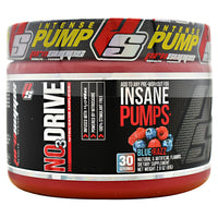 Pro Supps NO3 Drive - Blue Razz - 30 Servings - 682055407791