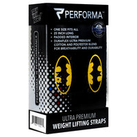 Perfectshaker Weight Lifting Straps - Batman - 1 Pair - 672683002215