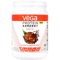 Vega Protein & Energy - Classic Chocolate - 14 Servings - 838766006284