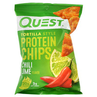 Quest Nutrition Protein Chips - Chili Lime - 8 ea - 30888849006657