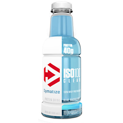 Dymatize ISO100 Clear - Blue Raspberry - 20 fl oz - 705016382408