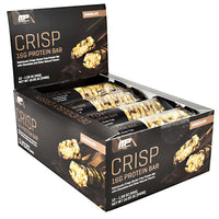 MusclePharm Combat Series Crisp Protein Bar - Chocolate - 12 Bars - 851387008819