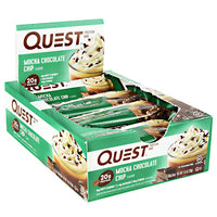 Quest Nutrition Quest Protein Bar - Mocha Chocolate Chip - 12 Bars - 888849005369