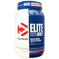 Dymatize Elite 100% Whey - Raspberry Cheesecake - 2 lb - 705016599349