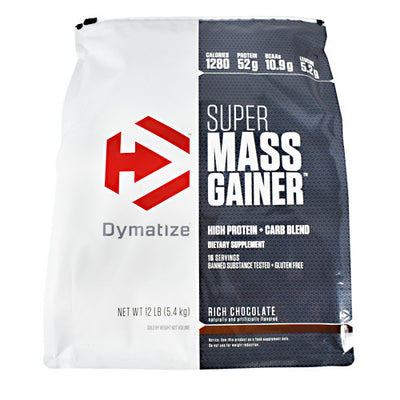 Dymatize Super Mass Gainer - Rich Chocolate - 12 lb - 705016331529