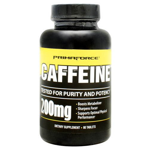 Primaforce Caffeine - 90 Tablets - 811445020078