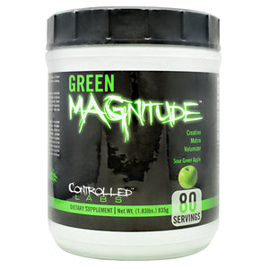Controlled Labs Green MAGnitude - Sour Green Apple - 1.83 lb - 895328001347