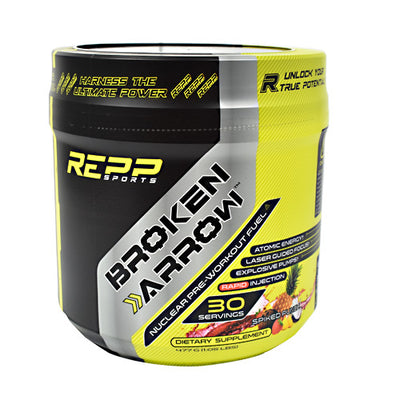Repp Sports Broken Arrow - Spiked Punch - 30 Servings - 851090006850