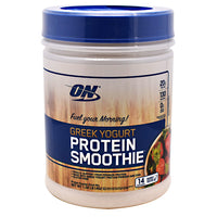 Optimum Nutrition Greek Yogurt Protein Smoothie - Strawberry - 14 Servings - 748927056716