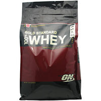 Optimum Nutrition Gold Standard 100% Whey - Delicious Strawberry - 10 lb - 748927028737