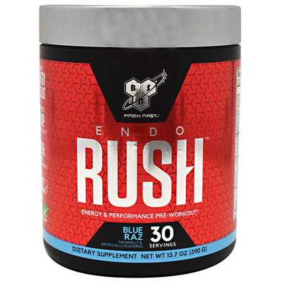 BSN Endorush - Blue Raz - 30 Servings - 834266007578