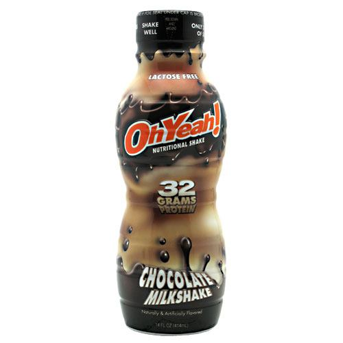 ISS Research OhYeah! Protein Shake RTD - Chocolate Milkshake - 12 Bottles - 788434114325