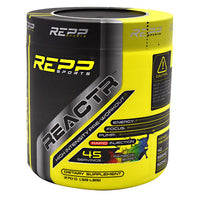Repp Sports REACTR - Rainbow Burst - 45 Servings - 851090006522