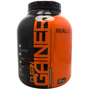 Rivalus Clean Gainer - Chocolate Fudge - 5 lb - 807156001680