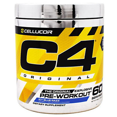 Cellucor iD Series C4 - Icy Blue Razz - 60 Servings - 842595104455