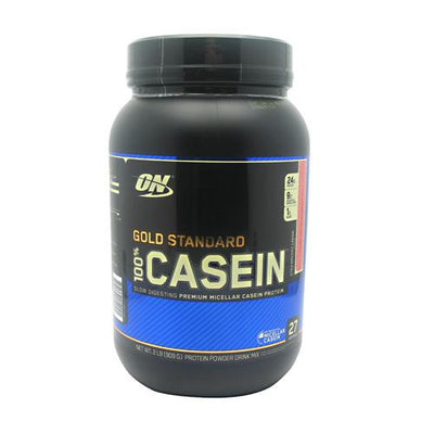 Optimum Nutrition Gold Standard 100% Casein - Strawberry Cream - 2 lb - 748927052091