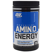 Optimum Nutrition Essential Amino Energy - Blue Raspberry - 30 Servings - 748927026825