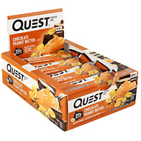 Quest Nutrition Quest Protein Bar - Chocolate Peanut Butter - 12 Bars - 888849000463