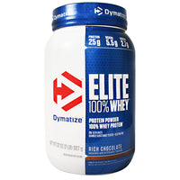 Dymatize Elite 100% Whey - Rich Chocolate - 2 lb - 705016599141