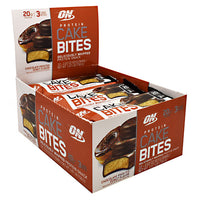 Optimum Nutrition Cake Bites - Chocolate Frosted Donut - 12 Bars - 748927956566
