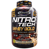 Muscletech Performance Series Nitro Tech 100% Whey Gold - Cookies and Cream - 5.53 lb - 631656710489