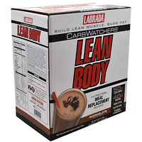 Labrada Nutrition Carb Watchers Lean Body - Chocolate - 20 Packets - 710779112414