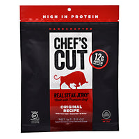 Chefs Cut Real Jerky Real Steak Jerky - Original Recipe - 2.5 oz - 858959005009