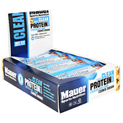 Mauer Sports Nutrition Classic Protein Bar - Chocolate Chip Cookie Dough - 12 Bars - 852815006643