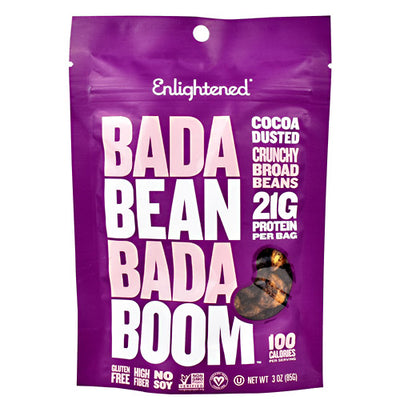 Beyond Better Foods Enlightened Bada Bean Bada Boom - Cocoa Dusted - 6 ea - 10852109004659