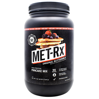 Met-Rx USA Pancake Mix - Original Buttermilk - 4 lb - 786560535281