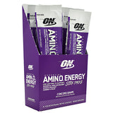 Optimum Nutrition Essential Amino Energy - Concord Grape - 6 Packets - 748927958768