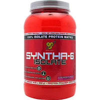 BSN Isolate Syntha-6 - Strawberry Milkshake - 2 lb - 834266066155