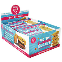 Buff Bake Protein Sandwich Cookies - Birthday Cake - 8 ea - 854570007538
