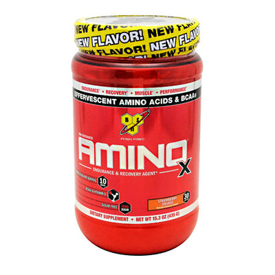 BSN Amino X - Strawberry Orange - 30 Servings - 834266004218
