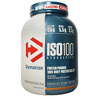 Dymatize ISO100 - Chocolate Peanut Butter - 3 lb - 705016353354