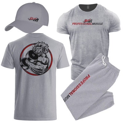 Beast Mens Combo - Shirt, Sweats and Cap