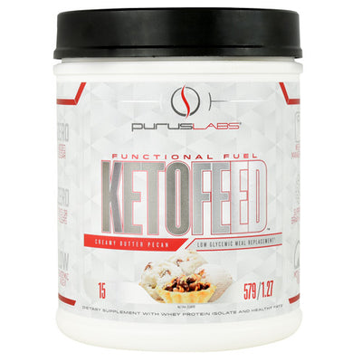 Purus Labs KetoFeed - Creamy Butter Pecan - 15 Servings - 855734002963