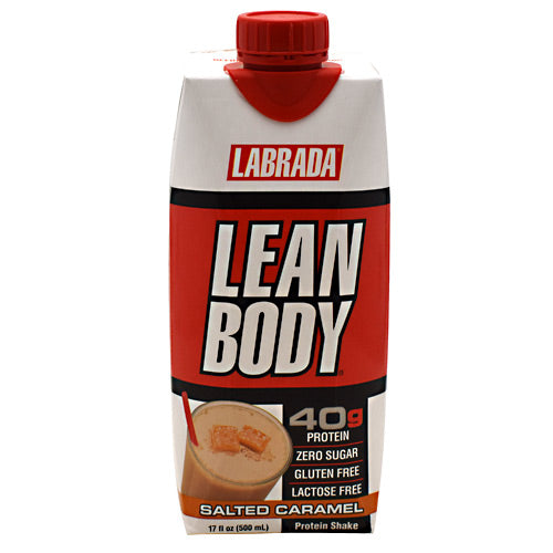 Labrada Nutrition Lean Body RTD - Salted Caramel - 12 ea - 710779004931
