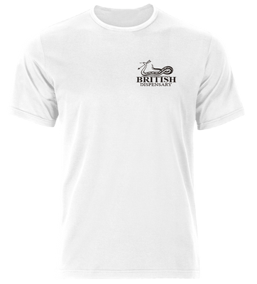 British Dispensary Tshirt White